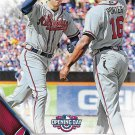 Freddie Freeman 2016 Topps Opening Day #OD-63 Atlanta Braves Baseball Card