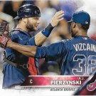A.J. Pierzynski 2016 Topps #635 Atlanta Braves Baseball Card