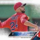 David Price 2016 Topps #450 Boston Red Sox Baseball Card