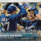 Milwaukee Brewers 2015 Topps #701 Baseball Team Card