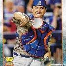 Travis d'Arnaud 2015 Topps #544 New York Mets Baseball Card