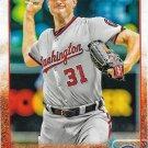 Max Scherzer 2015 Topps #586 Washington Nationals Baseball Card