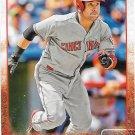 Skip Schumaker 2015 Topps #633 Cincinnati Reds Baseball Card