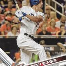 Corey Seager 2017 Topps Update #US110 Los Angeles Dodgers Baseball Card