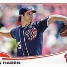 Dan Haren 2013 Topps Update #US41 Washington Nationals Baseball Card
