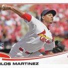 Carlos Martinez 2013 Topps Update Rookie #US175 St. Louis Cardinals Baseball Card