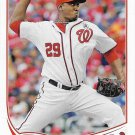 Rafael Soriano 2013 Topps Update #U61 Washington Nationals Baseball Card