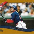 Ellis Burks 2002 Topps #140 Cleveland Indians Baseball Card