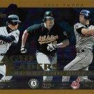 Ichiro Suzuki-Jason Giambi-Roberto Alomar 2002 Topps #337 Baseball Card