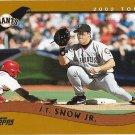 J.T. Snow 2002 Topps #74 San Francisco Giants Baseball Card