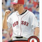 Alfredo Aceves 2011 Topps Update #US122 Boston Red Sox Baseball Card