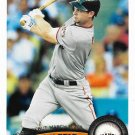 Brandon Belt 2011 Topps Update Rookie Debut #US83 San Francisco Giants Baseball Card