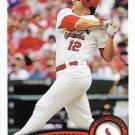 Lance Berkman 2011 Topps Update #US330 St. Louis Cardinals Baseball Card