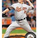 Zach Britton 2011 Topps Update Rookie Debut #US228 Baltimore Orioles Baseball Card