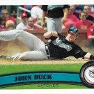 John Buck 2011 Topps Update #US261 Florida Marlins Baseball Card