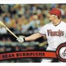Sean Burroughs 2011 Topps Update #US290 Arizona Diamondbacks Baseball Card