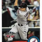Asdrubal Cabrera 2011 Topps Update #US229 Cleveland Indians Baseball Card