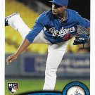 Rubby De La Rosa 2011 Topps Update Rookie #US209 Los Angeles Dodgers Baseball Card