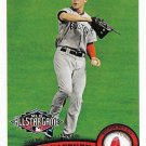 Jacoby Ellsbury 2011 Topps Update #US278 Boston Red Sox Baseball Card