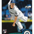 Charlie Furbush 2011 Topps Update Rookie #US173 Seattle Mariners Baseball Card