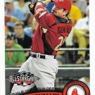 Adrian Gonzalez 2011 Topps Update #US126 Boston Red Sox Baseball Card