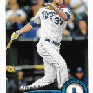 Eric Hosmer 2011 Topps Update Rookie Debut #US188 Kansas City Royals Baseball Card