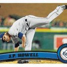 J.P. Howell 2011 Topps Update #US206 Tampa Bay Rays Baseball Card