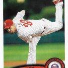 Cliff Lee 2011 Topps Update #US100 Philadelphia Phillies Baseball Card