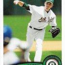 Brandon McCarthy 2011 Topps Update #US107 Oakland Athletics Baseball Card