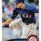 Alexi Ogando 2011 Topps Update #US190 Texas Rangers Baseball Card