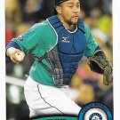 Miguel Olivo 2011 Topps Update #US67 Seattle Mariners Baseball Card