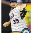 Bobby Parnell 2011 Topps Update #US120 New York Mets Baseball Card