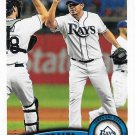 Joel Peralta 2011 Topps Update #US125 Tampa Bay Rays Baseball Card