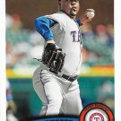 Arthur Rhodes 2011 Topps Update #US223 Texas Rangers Baseball Card