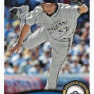 Francisco Rodriguez 2011 Topps Update #US244 Milwaukee Brewers Baseball Card