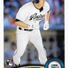 Blake Tekotte 2011 Topps Update Rookie #US240 San Diego Padres Baseball Card