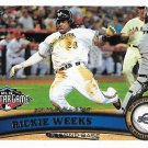 Rickie Weeks 2011 Topps Update #US49 Milwaukee Brewers Baseball Card