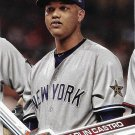 Starlin Castro 2017 Topps Update #US236 New York Yankees Baseball Card