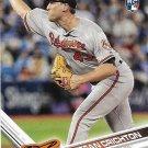 Stefan Crichton 2017 Topps Update Rookie #US255 Baltimore Orioles Baseball Card