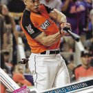 Giancarlo Stanton 2017 Topps Update #US65 Miami Marlins Baseball Card
