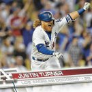 Justin Turner 2017 Topps #251 Los Angeles Dodgers Baseball Card
