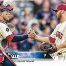 Cody Allen 2016 Topps #531 Cleveland Indians Baseball Card