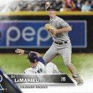 D.J. LeMahieu 2016 Topps #661 Colorado Rockies Baseball Card