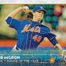 Jacob deGrom 2015 Topps #387 New York Mets Baseball Card