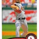 Jaime Garcia 2011 Topps #23 St. Louis Cardinals Baseball Card