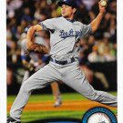 Ted Lilly 2011 Topps #36 Los Angeles Dodgers Baseball Card