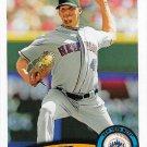 Jon Niese 2011 Topps #147 New York Mets Baseball Card