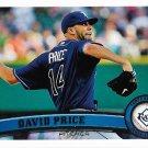 David Price 2011 Topps #61 Tampa Bay Rays Baseball Card