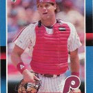Darren Daulton 1988 Donruss #309 Philadelphia Phillies Baseball Card