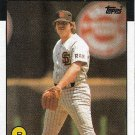 LaMarr Hoyt 1986 Topps #380 San Diego Padres Baseball Card